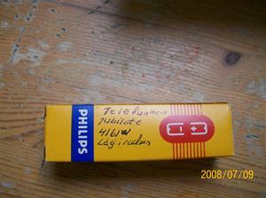 219. Såld. Philips, radiorör. Typ: ECC 85. Låg i Telefunken 4161w Jubilate som jag fick samtidigt. Fotonr: 100_1367