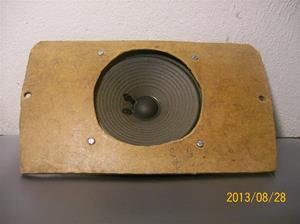 800. Maximal, stereospeaker mod. 360. Max 6w, 4-8 ohm. Högtalare mont. på masonitskiva. 101_0495