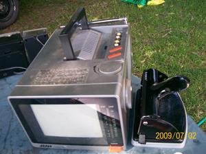 284. Jean, TV-monitor. Typ: Model No.? CTV-400. Nr: 56490244. Tillv: September 1987, c, Made in Taiwan. Fotonr: 100_3561