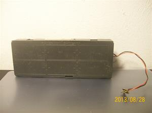 801. Batteribox, för 6 stycken 1,5v LR20. 101_0496