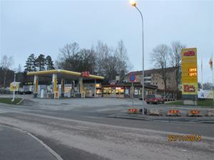 Shell Östermalmsvägen Finnspång. Nu ST1. IMG_0652