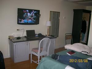 2012 03 08. Rummet på Hotell Radisson Blu Strand.