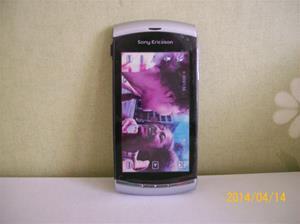 854. Såld. Sony Ericsson Vivaz, mobiltelefon. Utställningsexemplar. Fotonr: 101_0607