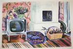 Evy Låås: Tv och kakelugn