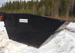 Container, öppen 10 kbm