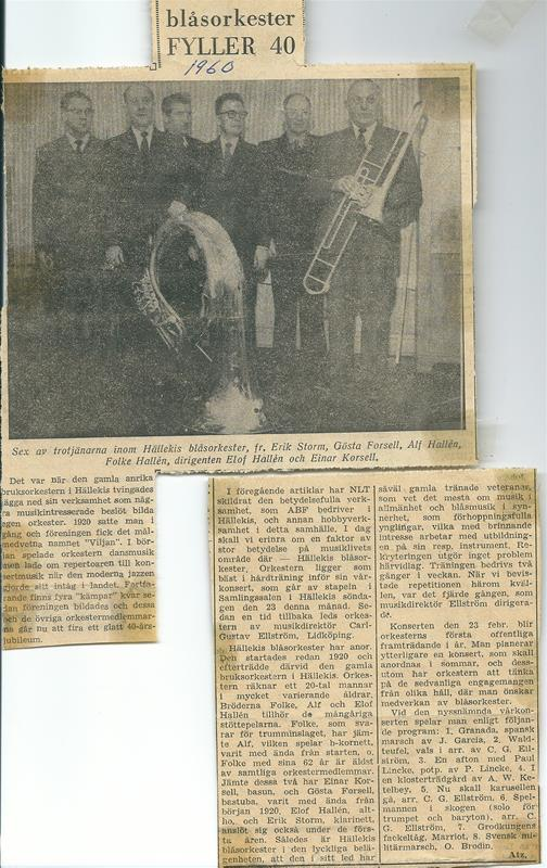 1960 två artiklar