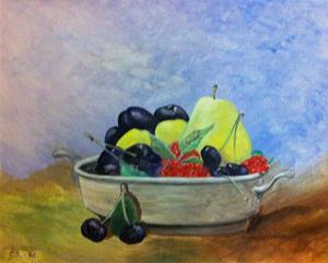 Fruktstilleben.