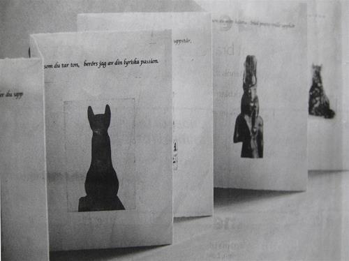 japansk vikning artist book grafik