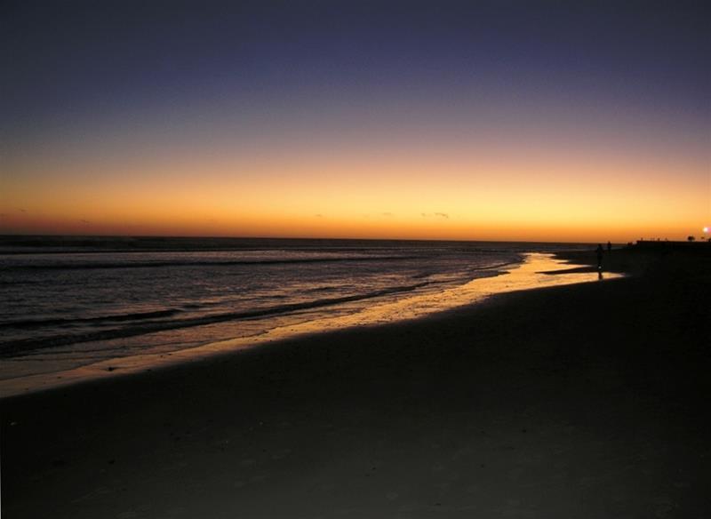 Solnedgång kanaria