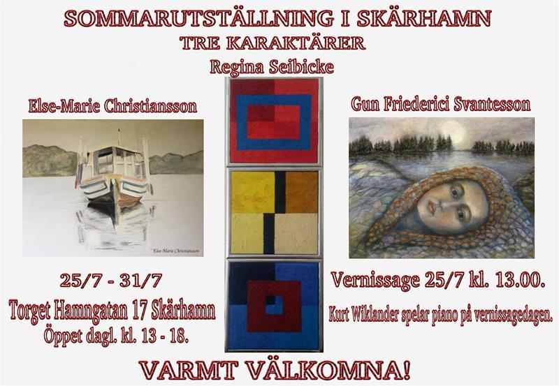 Sommarutställning Skärhamn