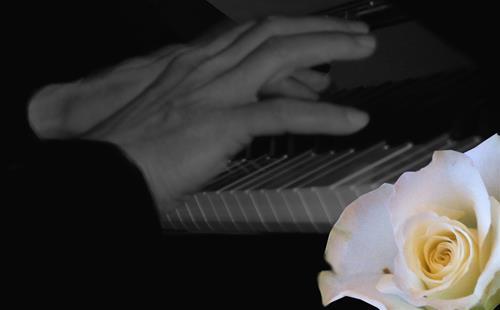 En pianists händer