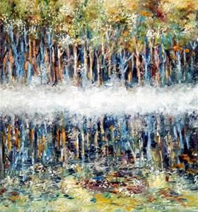 Dimma över skogssjön