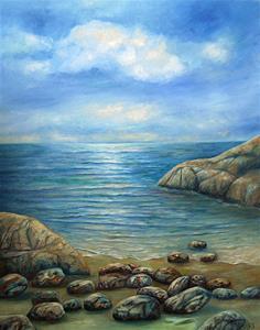 Stenig havsvik