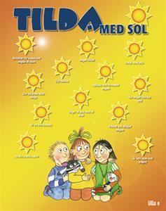 Tilda med is och sol Affisch sol