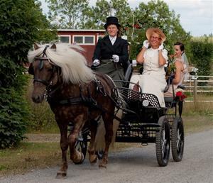 Ask drar nygifta i Rö