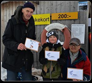 1. Robert Sporrong, Sörberge 2. Erik Dahlgren, Hammarstrand 3. Elliot Sjöberg, Stockholm