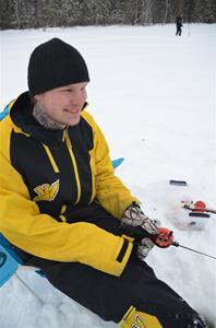 Pjoter Sparven Österlund Glad fiskare från Bispgården