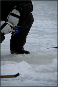 fiske på gång