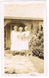 26.Tre tjejer i USA 1932.