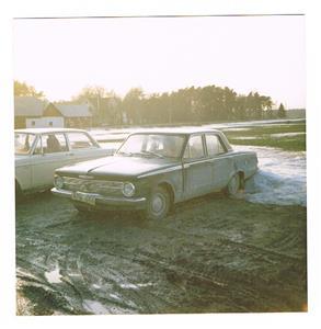 Min Plymouth 1965. Bilden tagen i början på 1980-talet.