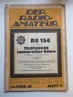 Radiolitteratur på Tyska.