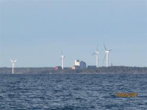 Klintehamn norrut, på avstånd.IMG_1530
