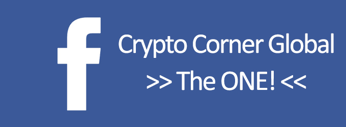 Follow Crypto Corner Global on Facebook