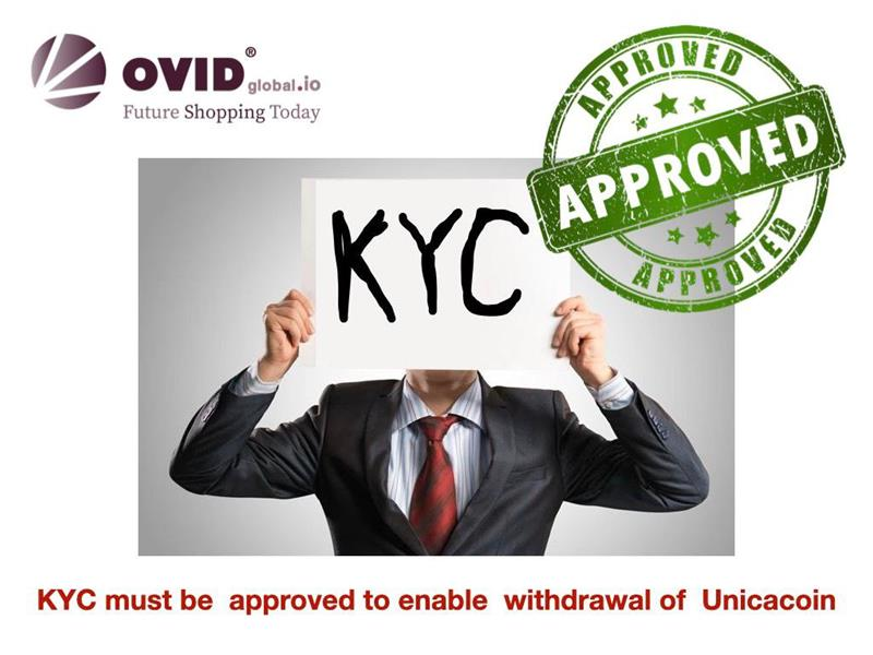 KYC approval required