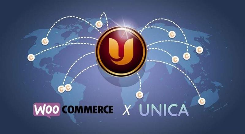 Woocommerce and Unica Coin collaboration