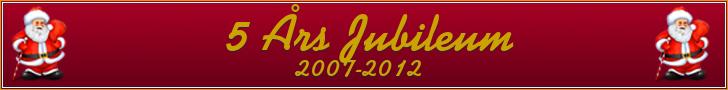 5 års jubileum