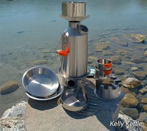 Kelly Kettle- Ultimate base camp set