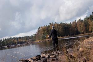 Fiske vid Brotorpet, Fotograf: Daniel Nilsson