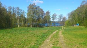 På väg mot sjön