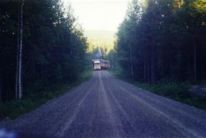 Scania on the road