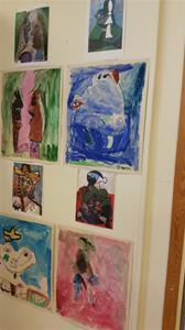 Pablo Picasso inspirerade barn