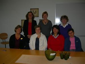 Tillsammans med verksamhetschefen Anna och specialpedagog Katarina