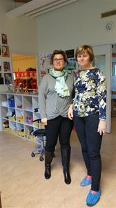 Våra rektorer Anette och Zdena