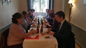 Gemensam middag i St. Djulö, lördag den 10 oktober 2015
