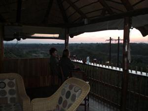 kväll vid Komati river