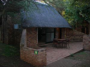 Stugan i Berg en Dal inne i Krugerparken