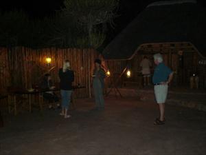 Grillkväll vid Komati River