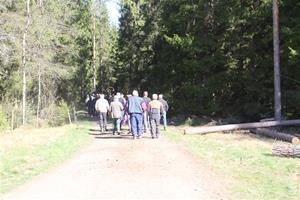 Skogsdag av södra o LRF förevisar ladugården 042