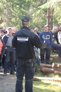 Skogsdag av södra o LRF förevisar ladugården 052