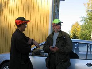 17. Björnskytten Conny Sandström med sin fru Annica