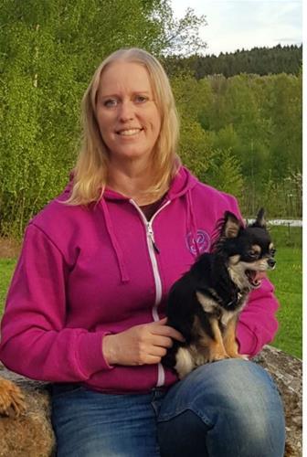 Linda Fernström stående