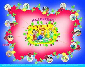 Tilda-med-hallonsaft--affisch
