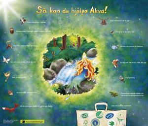 Hjälp! sa Akva affisch