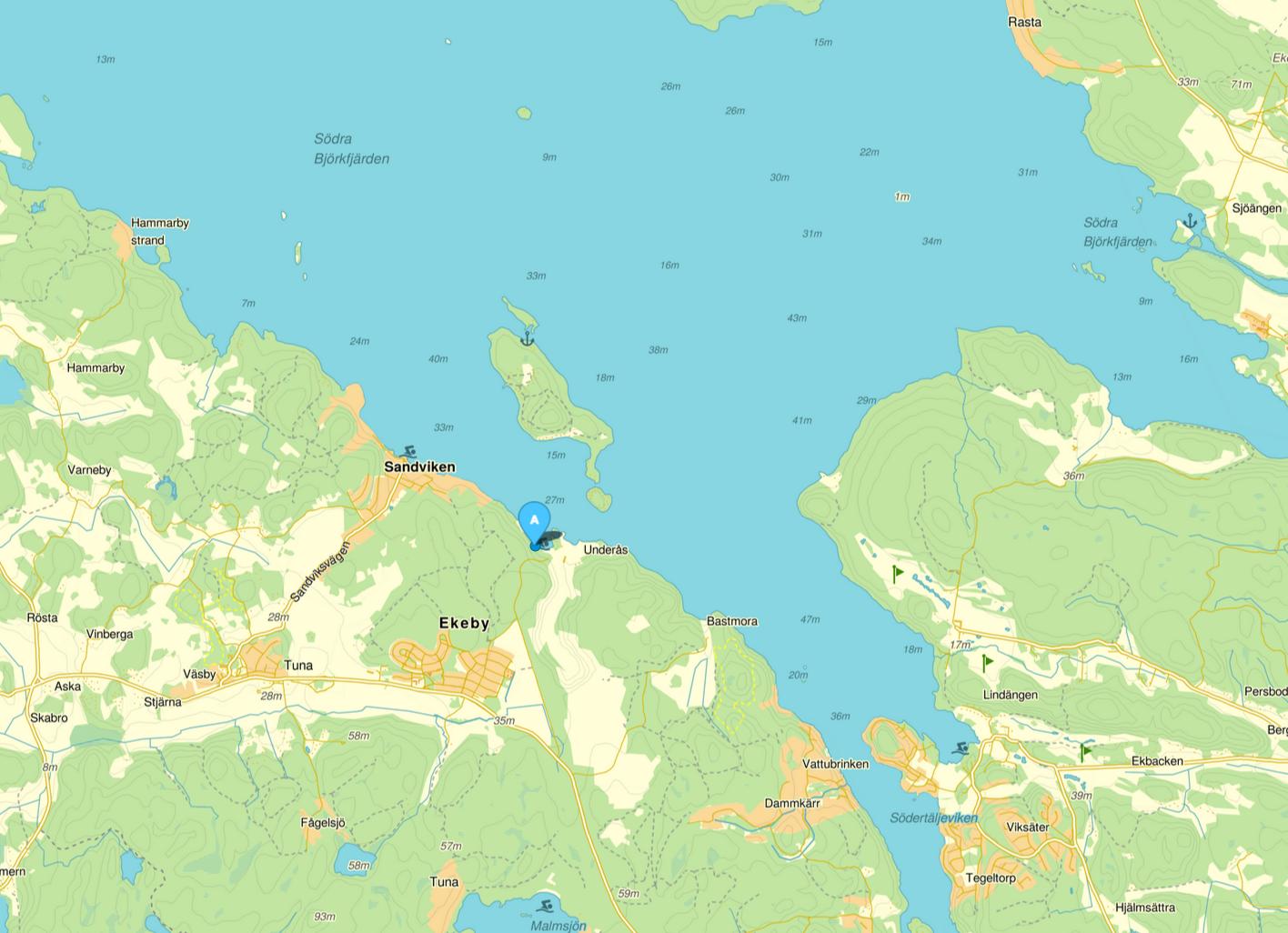 Kartbild - Eniro