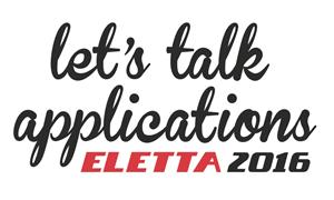 Let's talk applications, Eletta 2016