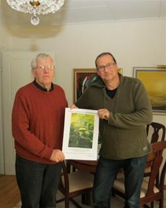 Lennart Edberg och Johan Abrahamson